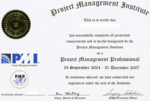 PMP-Certificate
