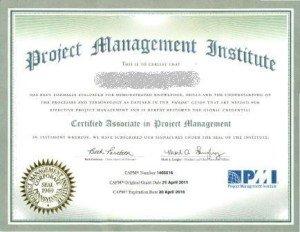 CAPM-certificate