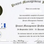 сертификат PMP
